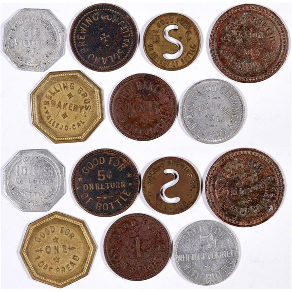 Vallejo Token Collection Including Unlisteds  [132154]