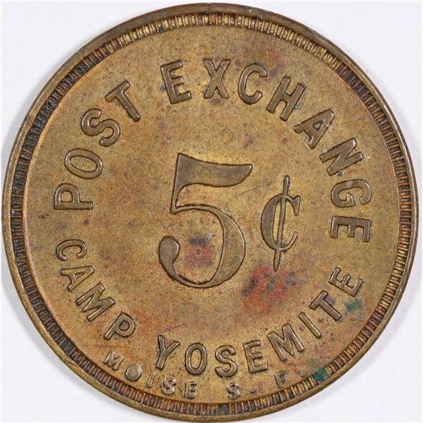 Post Exchange Camp Yosemite Token  [135514]