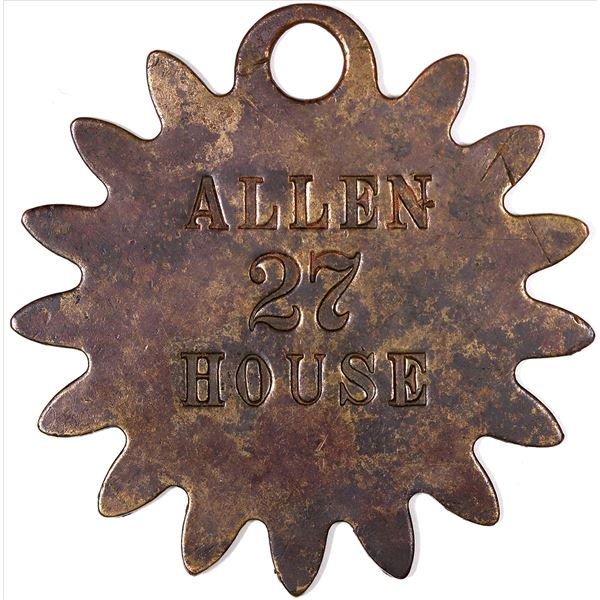 Allen House Key Tag  [129310]