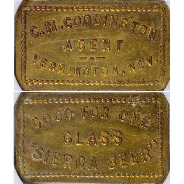 Sierra Beer Token C. M. Coddington  [126095]