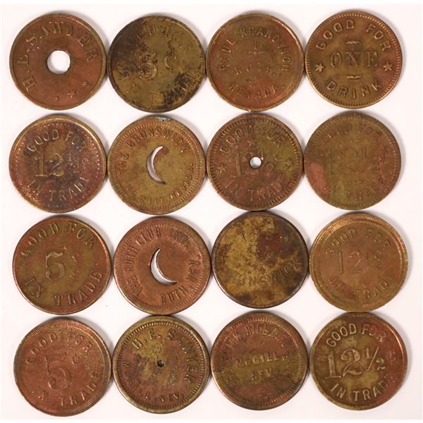 Mine & Smelter Town Token Collection  [126107]