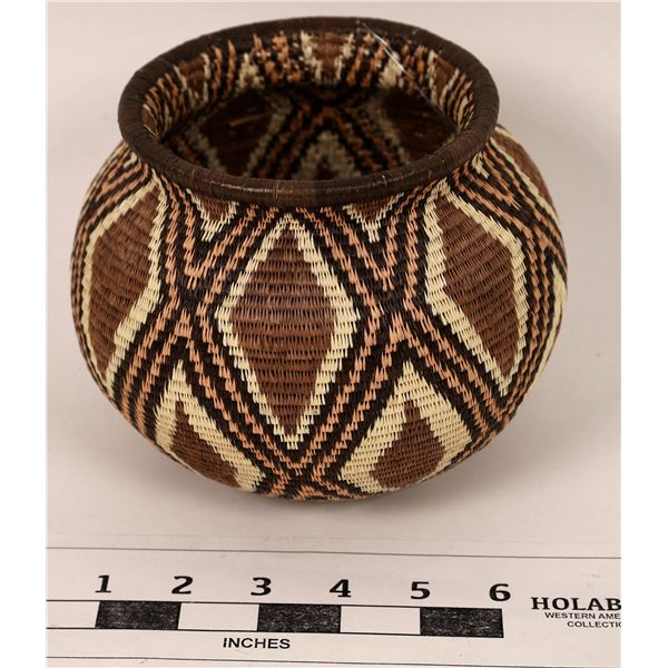 Panamanian Wounaan Rainforest Basket  [125589]
