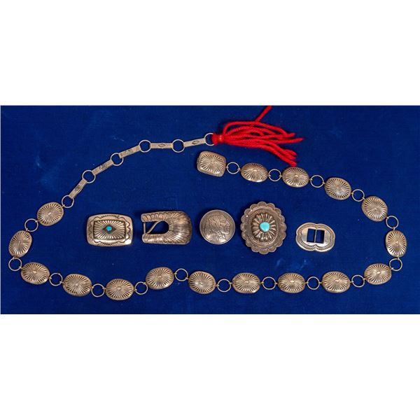 Concho Belt and Belt Buckles  [132796]