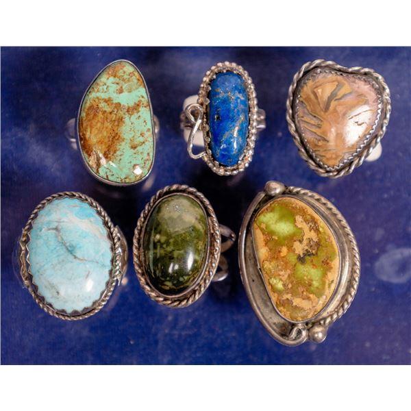 Navajo Silver Rings  [132782]