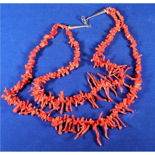 Vintage Branch Coral Necklace  [133859]