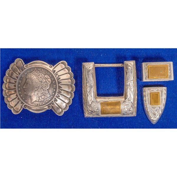 Morgan Dollar Belt Buckle  [132788]
