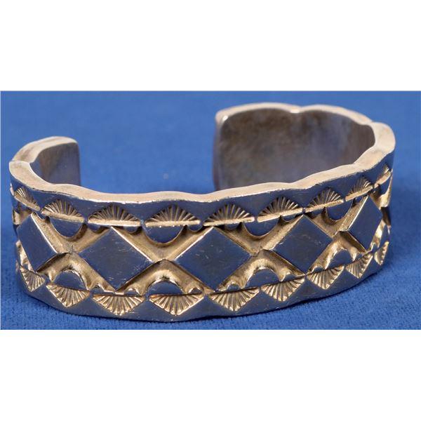 Darin Bill Heavy Sterling Bracelet  [135605]