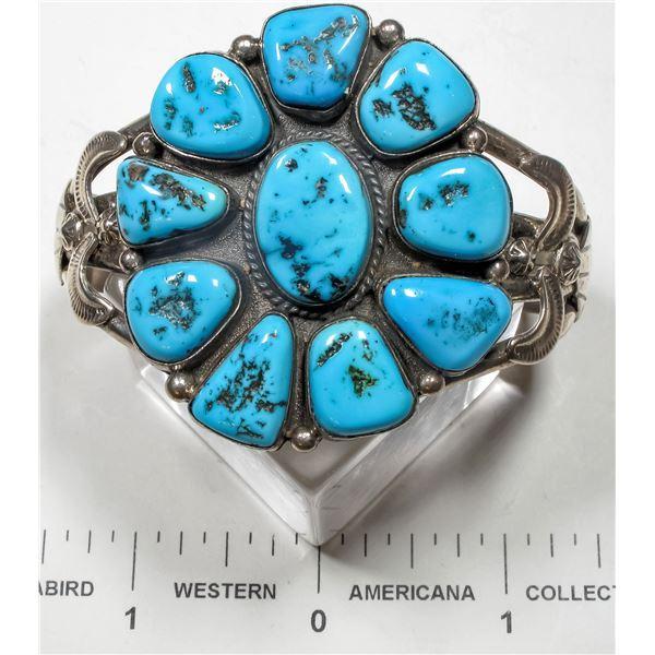 Ella Peter Turquoise Cluster Bracelet  [135603]