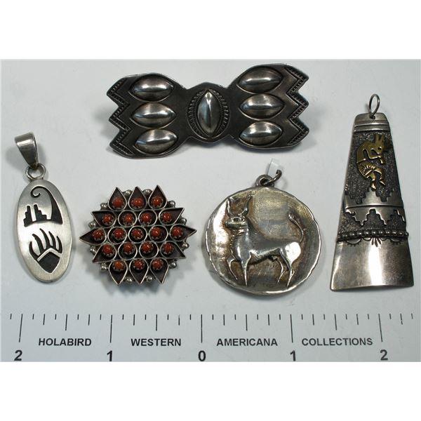 Native American Pendants (4)  [135508]
