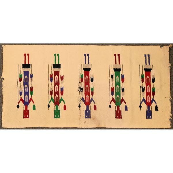 Yei Navajo Rug  [135586]