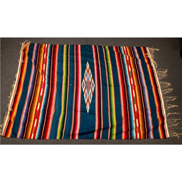 Vintage Mexican Pattern Blanket and Runner  [132483]