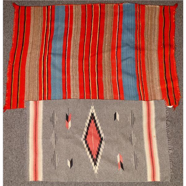 Polychrome Saddle Blanket Pair  [132271]