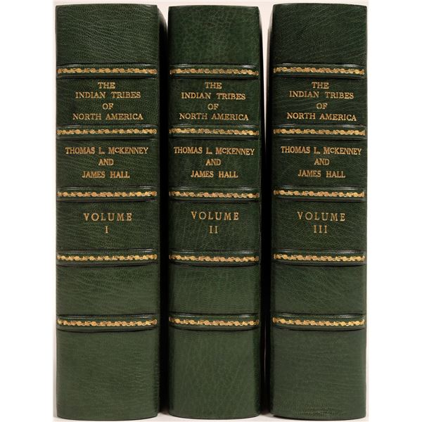 The Indian Tribes of North America, 3 Volumes, 1934  [132838]