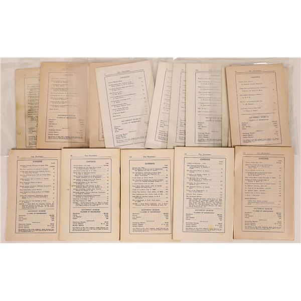 Southwest Museum Masterkey Booklets  [125517]