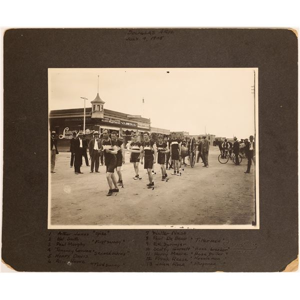 Photo of Tombstone, Arizona Fire Department on Parade  [131642]