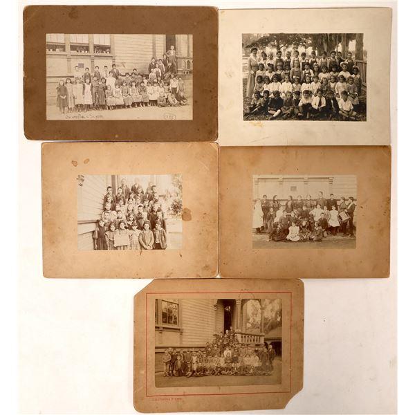 Decoto Public School Pictures - 5 pcs  [129914]