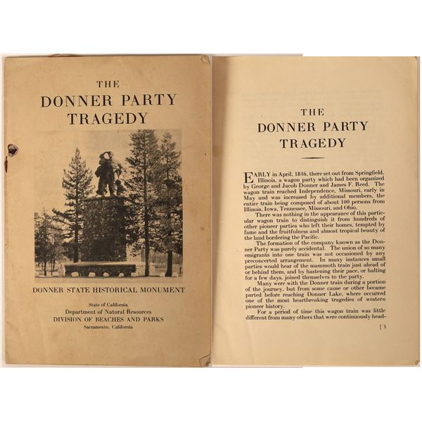 Donner Party Historic Items  [130138]