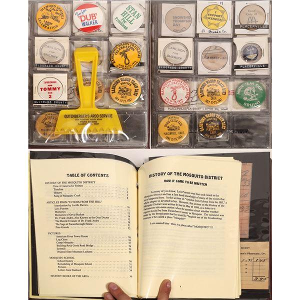 El Dorado County Personal Scrapbook  [132259]