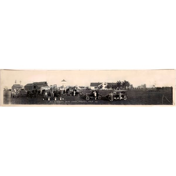 Vintage Dairy Panorama   [131965]