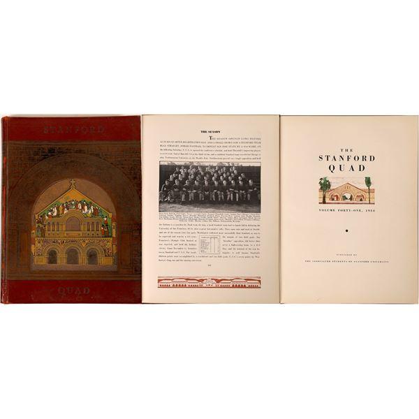 Stanford 1934 Annual w/Hewlett & Packard  [131602]