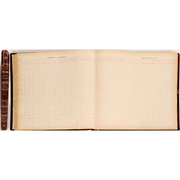 Sacramento City/County Expense Ledger, 1911  [125229]
