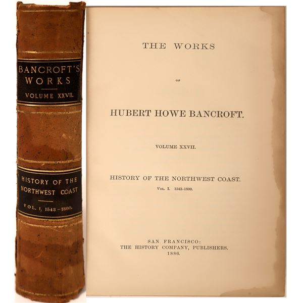 History of California Volume I, 1543-1800  [131709]