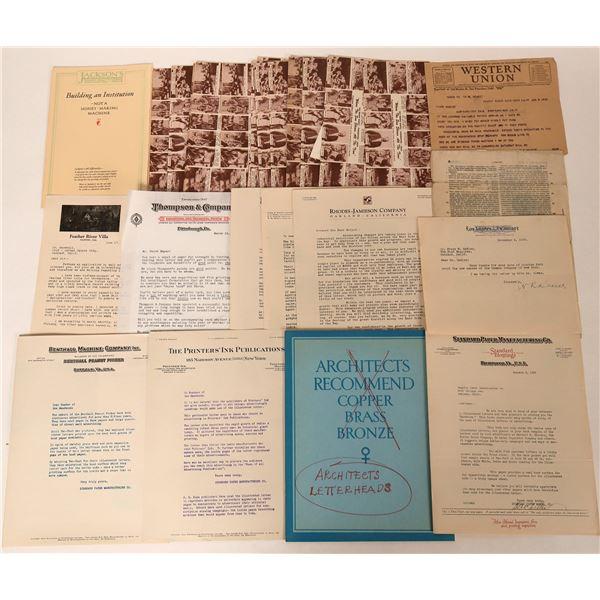William Randolph Hearst Memorabilia  [124300]