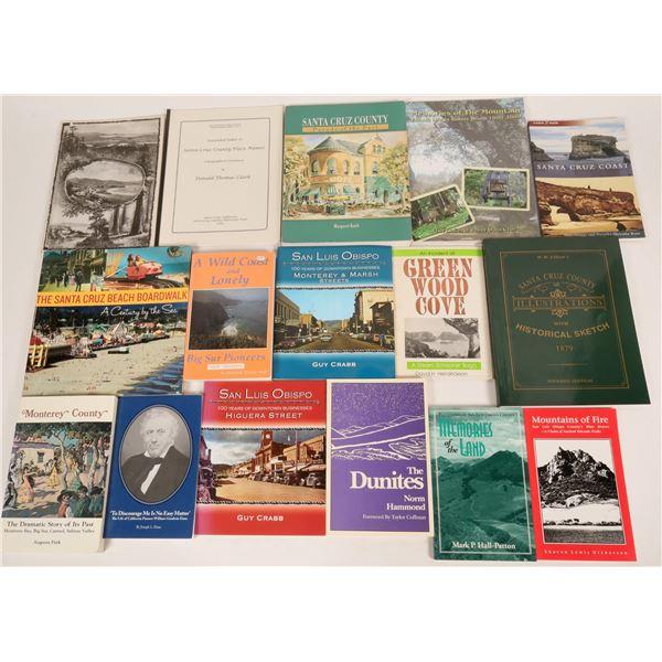 California Coastal History Library: Santa Cruz, San Luis Obispo, Monterey  [135569]