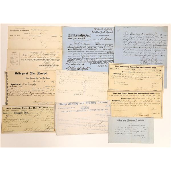 Gold Rush Period Documents  [131843]