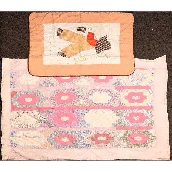Handmade Quilt & Crib Blanket  [131411]