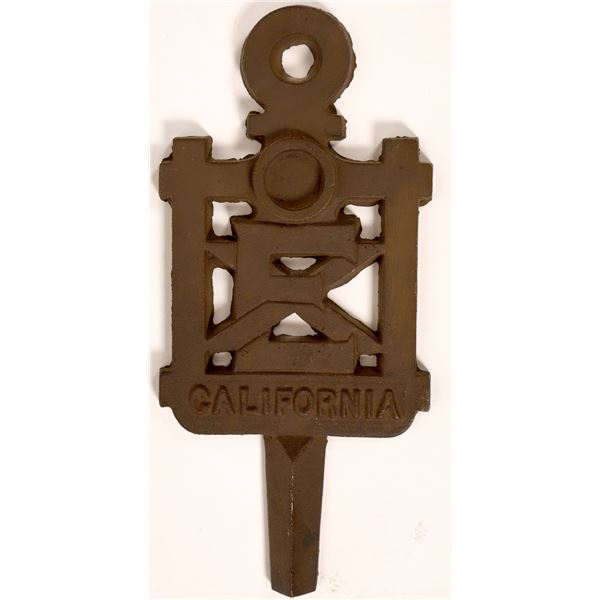 Large, Heavy Ornamental Key (for Grand Opening?)  [130144]