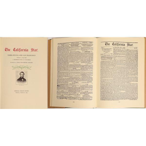 The California Star Journal Volume 1, 1847-1848  [132509]