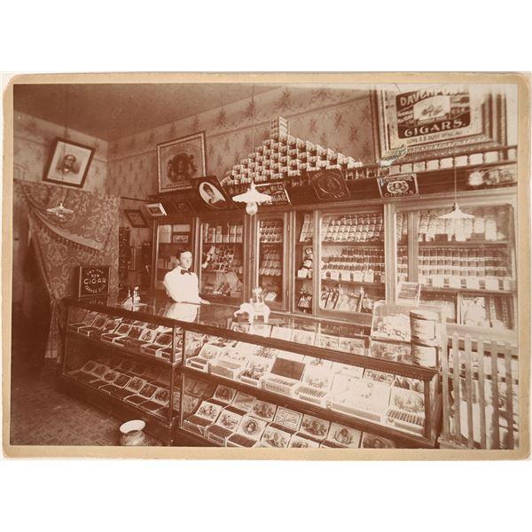 Choice Cigar Store 1890 Photograph  [130140]