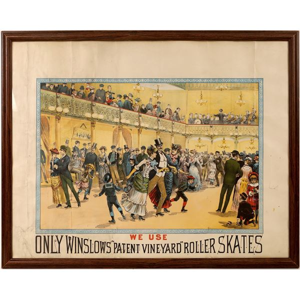 1880's Winslow Roller Skate Advertisement  [131700]