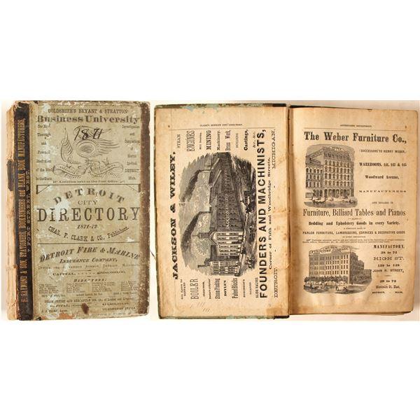 Detroit City Directory, 1871-2  [135574]
