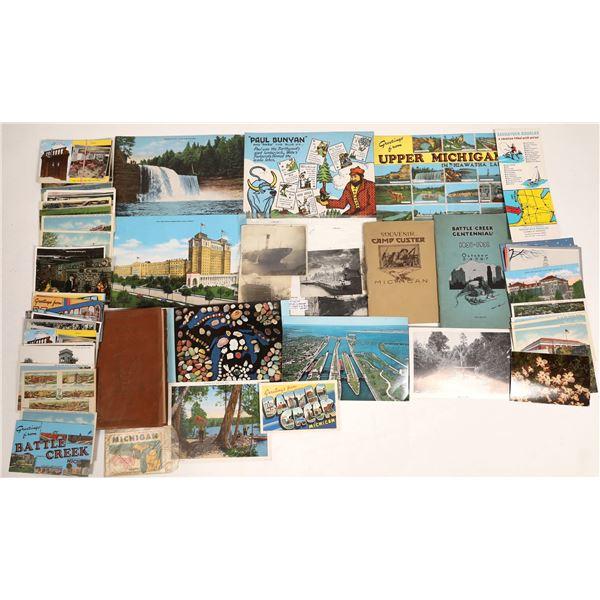 Michigan Collectable (Postcards, Souvenirs)   [132816]