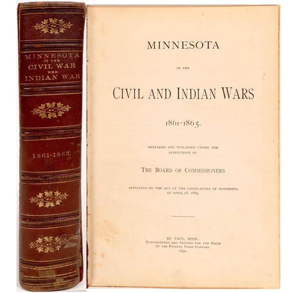 Minnesota in the Civil War and the Indian Wars  [129888]