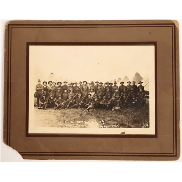 Camp Clark Infantry Photo  [132464]