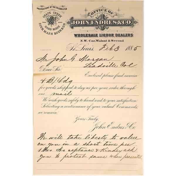 Receipt From Wholesale  Liquor Dealer  [131962]