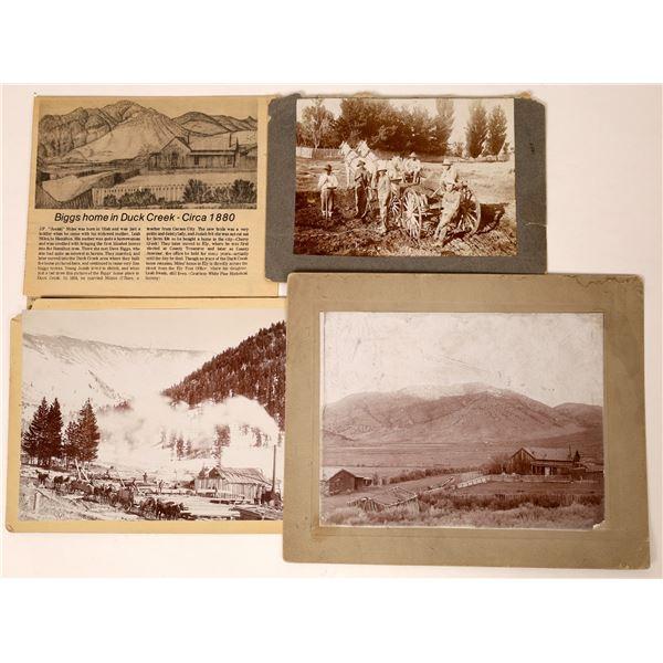 Three Rare Duck Creek Photographs  [130063]