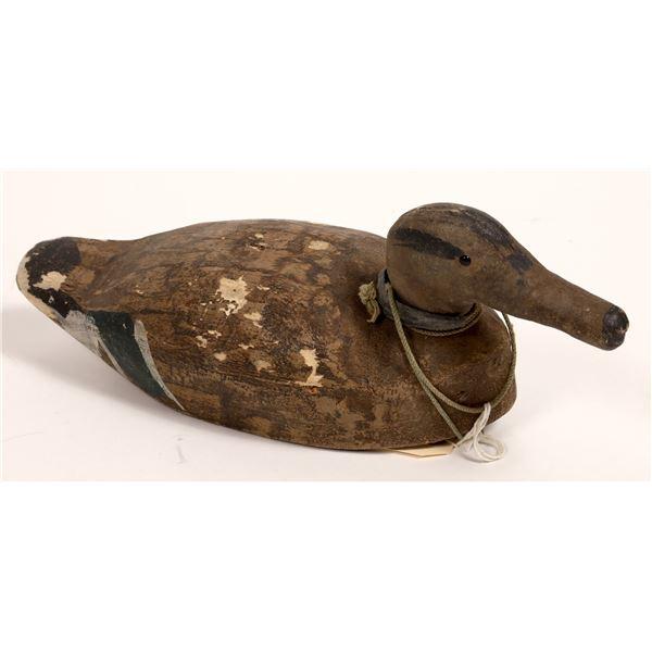 Wooden Duck Decoy  [132992]
