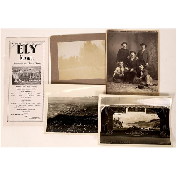 Ely, Nevada Photographs and Pamphlet  [130106]