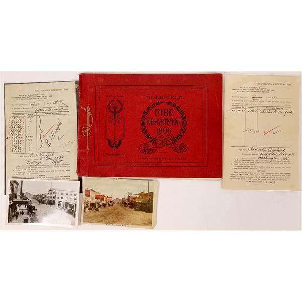 Goldfield Fire Department 1906, Illustrated Souvenir  [118178]