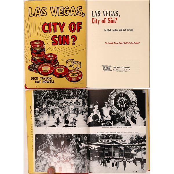 Rare Las Vegas Gaming Book  [121702]