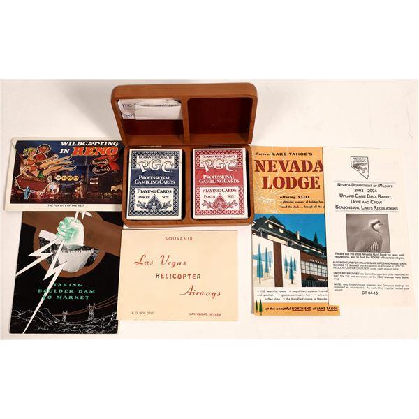 Nevada Gaming and Tourism memorabilia  [132855]