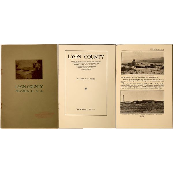 Lyon County Promotional Brochure, 1915  [130116]