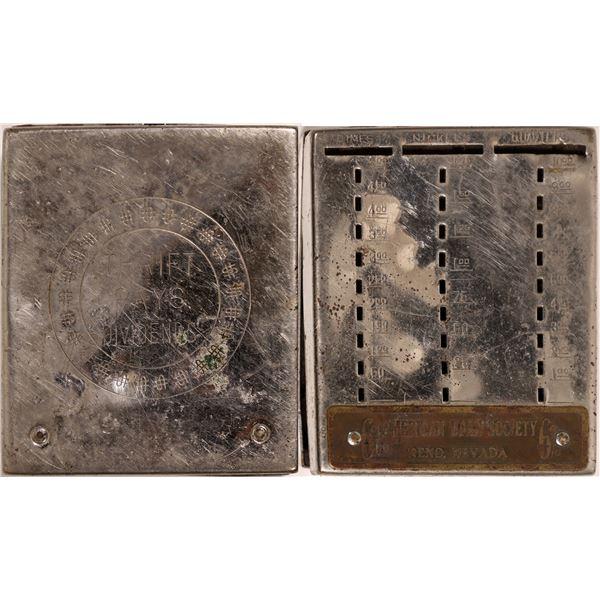 Rare Metal Coin Bank, American Loan Society  [133743]