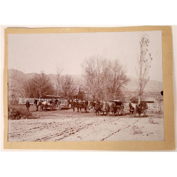 Campbell Ranch, Steptoe Valley, High Contrast Photo, c1895  [130107]