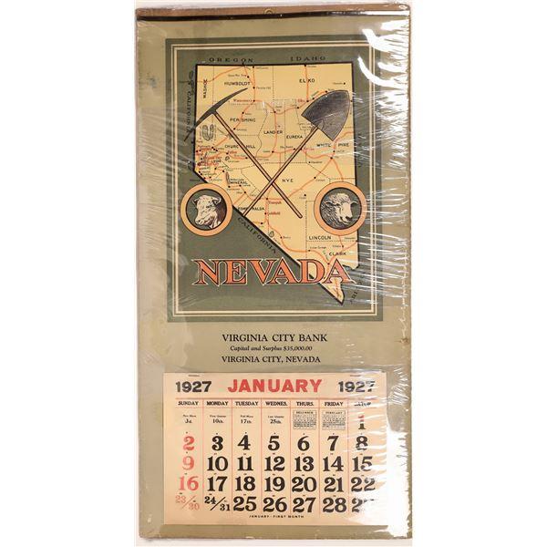 """""""Virginia City Bank"""" Advertising Calendar  [132318]"""