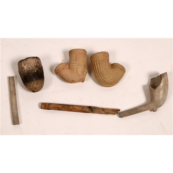 Fragments of Smoking Pipes found at Washoe Lake  [133737]